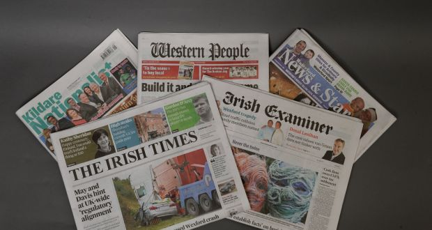 irish times completes acquisition of examiner and landmark titles