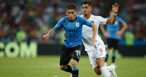 Uruguay's defensive midfielder Lucas Torreira has signed for Arsenal. Photo: Getty Images