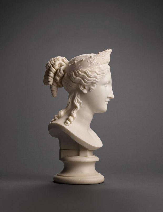 Antonio Canova's Bust of Peace, sold after telephone bidding battle for nearly€6 million