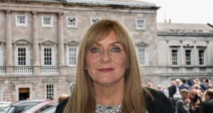 Senator Frances Black called the settlements 'a gross violation of international law'. Photograph: Brenda Fitzsimons/The Irish Times
