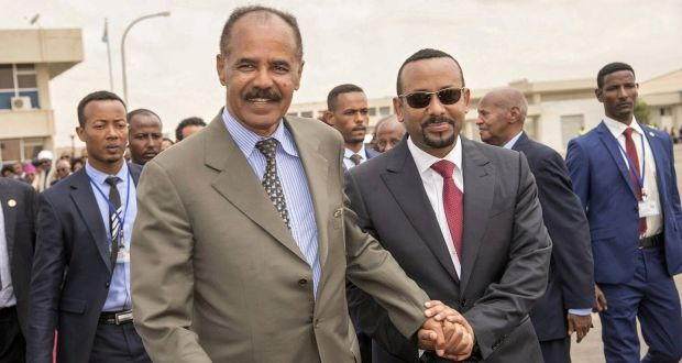 Phone lines reopen as Ethiopia and Eritrea make peace after