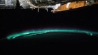 Astronaut captures timelapse of lightning and aurora from space