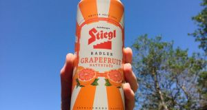 Stiegl's Grapefruit Radlers is made with 60 per cent fruit soda and 40 per cent lager