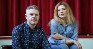 Phillip McMahon and Rachel O'Riordan's  new play, 'Come on Home', runs in the Abbey Theatre on the Peacock Stage  from July 13th to August 4th. Photograph: Nick Bradshaw