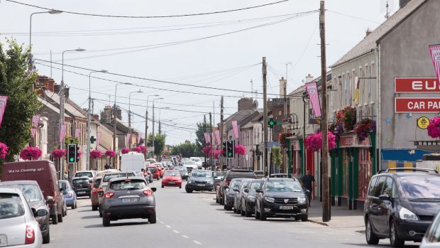 The Main Street in Rush, Co Dublin, is a hive of pubs and restaurants. Photograph: Tom Honan