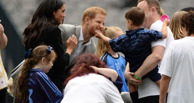 Royal visit in pictures Harry and Meghan in Dublin