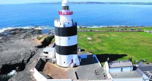 The Hook lighthouse has a cafe in the visitor centre,  concentrating on foods prepared onsite and breads, cakes and scones baked in the in-house bakery.