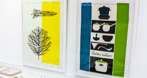 Wall hangings by Lucienne Day, one of Britain's foremost designers of the mid-20th century.