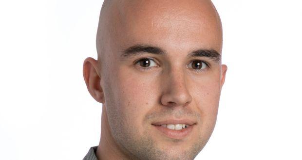 Marketing lecturer Dave Alton. Photograph: Tomas Tyner, UCC