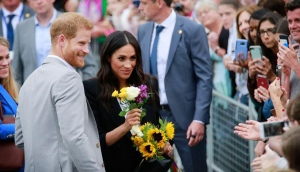 Out and about in Dublin with Prince Harry and Meghan Markle