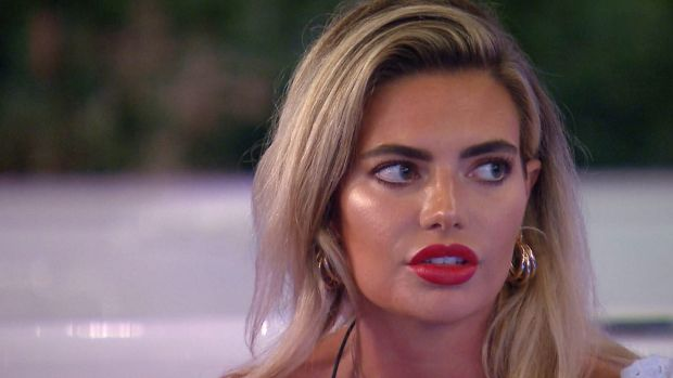 Love Island's Megan Barton Hanson, one of many of the show's cast who have had lip fillers. Photograph: ITV