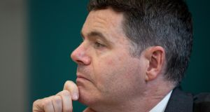 "Minister for Finance Paschal Donohoe said he was not planning ""significant tax reductions"" in the next budget. Photograph: Tom Honan."