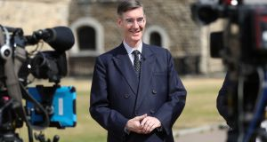 Brexit campaigner Jacob Rees-Mogg: 'The amendments will put into law the government's often stated position that Northern Ireland should be treated the same way as the rest of the country.' Photograph: Simon Dawson/Reuters
