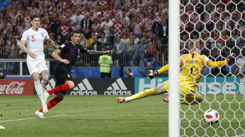 9126e4d69 Mandzukic ends England's World Cup dream as Croatia march on