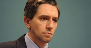 Minister for Health Simon Harris said same sex couples will be allowed to retrospectively register both their names on their child's birth certificate and passport. Photograph: Aidan Crawley