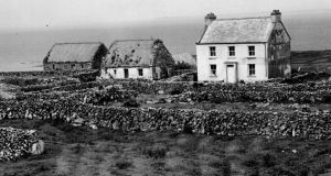 The Times We Lived In: House on Inis M, Aran Islands. Photograph: Eddie Kelly