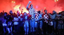 Euphoria in Zagreb as Croatia reach the World Cup final