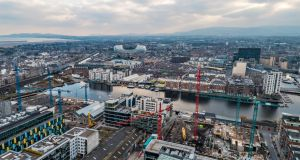 Dublin's docklands area has become a hub for business and innovation.