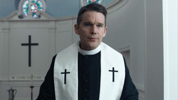 Image result for ethan hawke first reformed