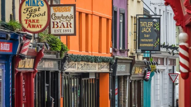 Pubs and bars in Killarney.