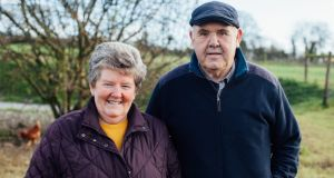 Margaret and Leo Farrelly, started their free-range egg business in 1988
