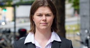 Sandra Higgins who denied harming a baby will not face another trial. File photograph: Collins