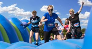 Super Milk Wild Air Run: Fota Island has an inflatable obstacle course on Saturday, July 14th