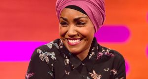 TV chef and author Nadiya Hussain on the Graham Norton Show. File photograph: Ian West/PA Wire