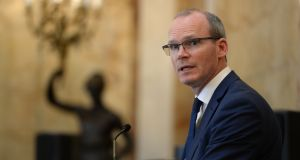 Tánaiste Simon Coveney. Photograph: Cyril Byrne / The Irish Times