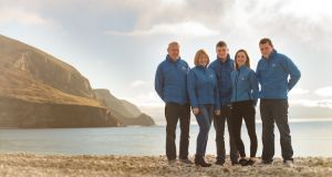 The O'Malley family, who run Achill Island Sea Salt