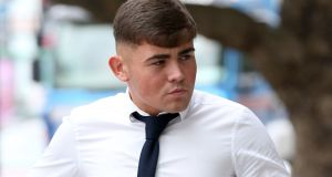 Jason Bradley (20),  of Liscarne Gardens, Ronanstown, Dublin, was found guilty of murdering Neil Reilly. Photograph:  Collins Courts.