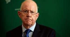 Minister for Justice Charlie Flanagan: offered to meet the committee next week to discuss the matter. Photograph: Eric Luke