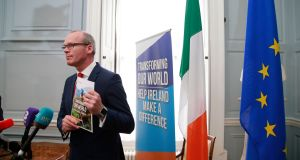 Tánaiste Simon Coveney launched public consultation into Ireland's  new development policy on Thursday.  Photograph: Nick Bradshaw