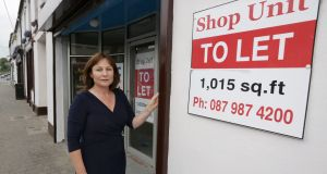 "Athy businesswoman Marcella O'Reilly: says a doubling of her rates bill was ""just a kick in the teeth"". Photo: Laura Hutton"