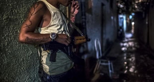 How Brazil's militias wield terror to seize power from drug