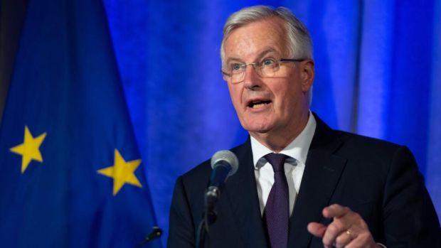 Brexit talks: the European Union's chief negotiator, Michel Barnier. Photograph: Saul Loeb/AFP/Getty