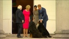 When the royals met the President (and his dogs)