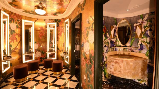Restroom at The Ivy Restaurant in Dublin.Photograph: Dara Mac Dónaill / The Irish Times