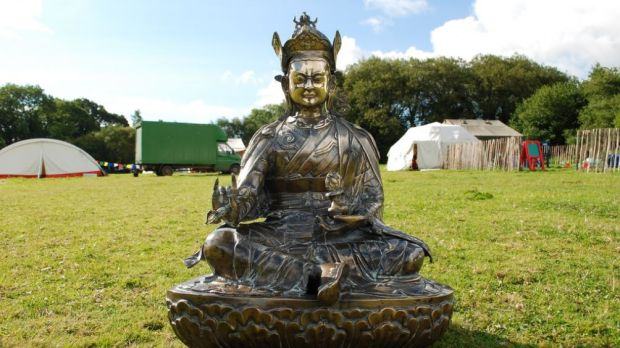 Buddhafield began as a meditation space at Glastonbury, and has grown into a major event on the boutique festival calendar