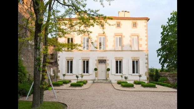 This maison de maître in the Loire region of France has four large bedrooms and sits on a third of an acre