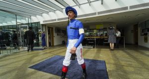Frankie Dettori was handed a 10-day suspension for careless riding at Newmarket on Friday. Photograph: Alan Crowhurst/Getty