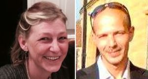 Dawn Sturgess, who has died as a result of Novichok poisoning, and Charles Rowley – who is no longer in a critical condition.