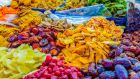 Many fruits and vegetables such as grapes, oranges, dates, herbs, avocados, peppers and potatoes come from Israeli settlement areas. Photograph: iStock