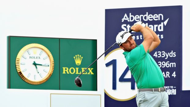 Graeme McDowell shot a 66 in the second round of the Scottish Open. Photograph: Andrew Redington/Getty