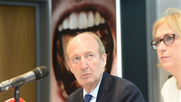 Minister for Transport, Tourism and Sport Shane Ross: Not a fan of modular Garda stations. Photograph: Dara Mac Dónaill