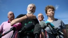 Gerry Adams challenges those responsible for attacking his Belfast home to meet him