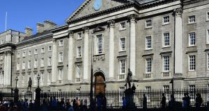Trinity College Dublin lost its status as Ireland's only top-100 university in the latest QS World University Rankings. Photograph: Robert Alexander/Getty Images