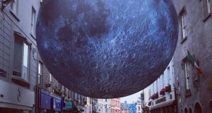 Full moon in Galway? Photograph: Galway International Arts Festival/Facebook