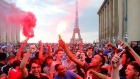 Tens of thousands celebrate in Paris as France win World Cup
