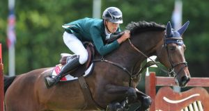 Bertram Allan and Ireland were edged out in Sweden. Photograph: Lorraine O'Sullivan/Inpho
